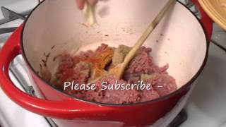 Keema Aaloo - Minced Meat Cooked With Potato Indian Style