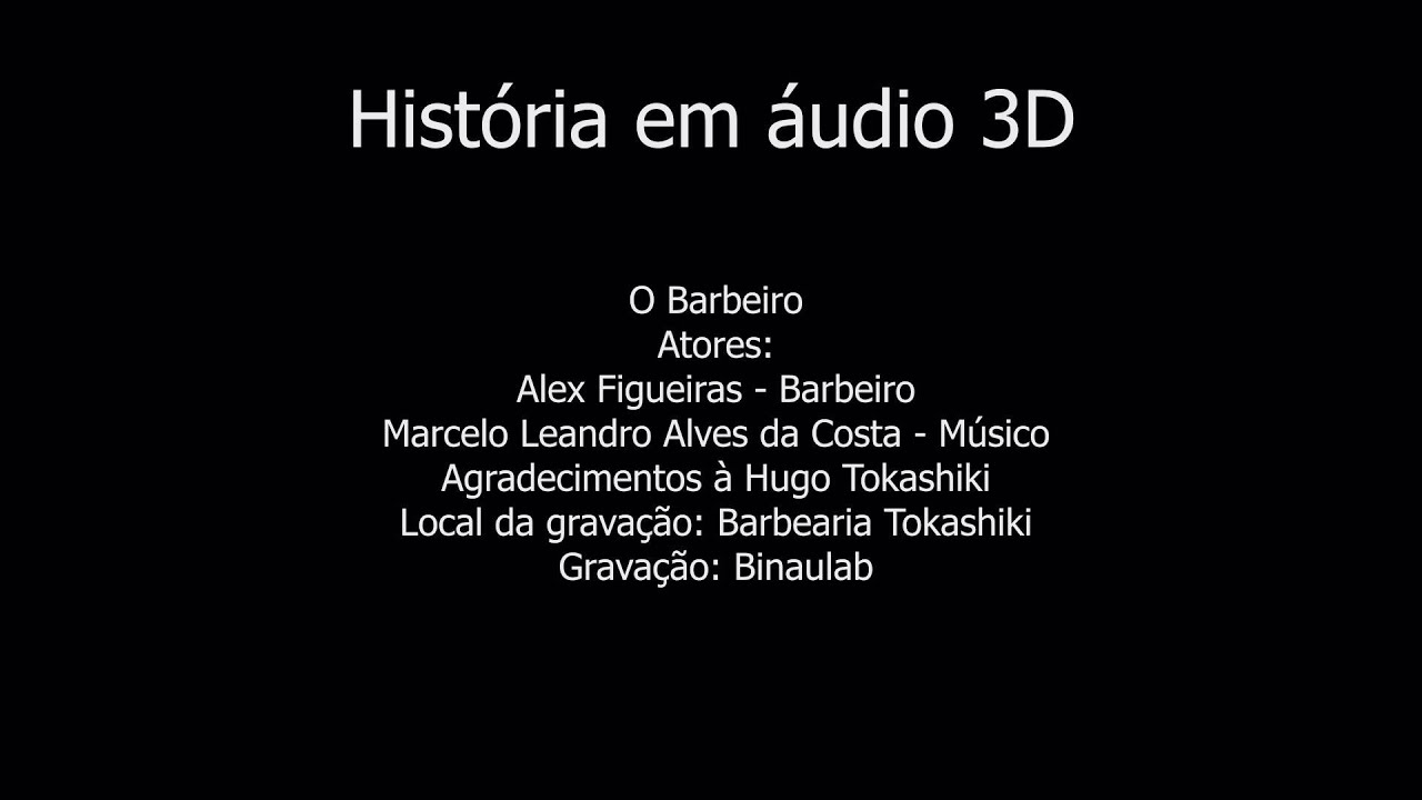 Corte de pelo virtual audio 3d