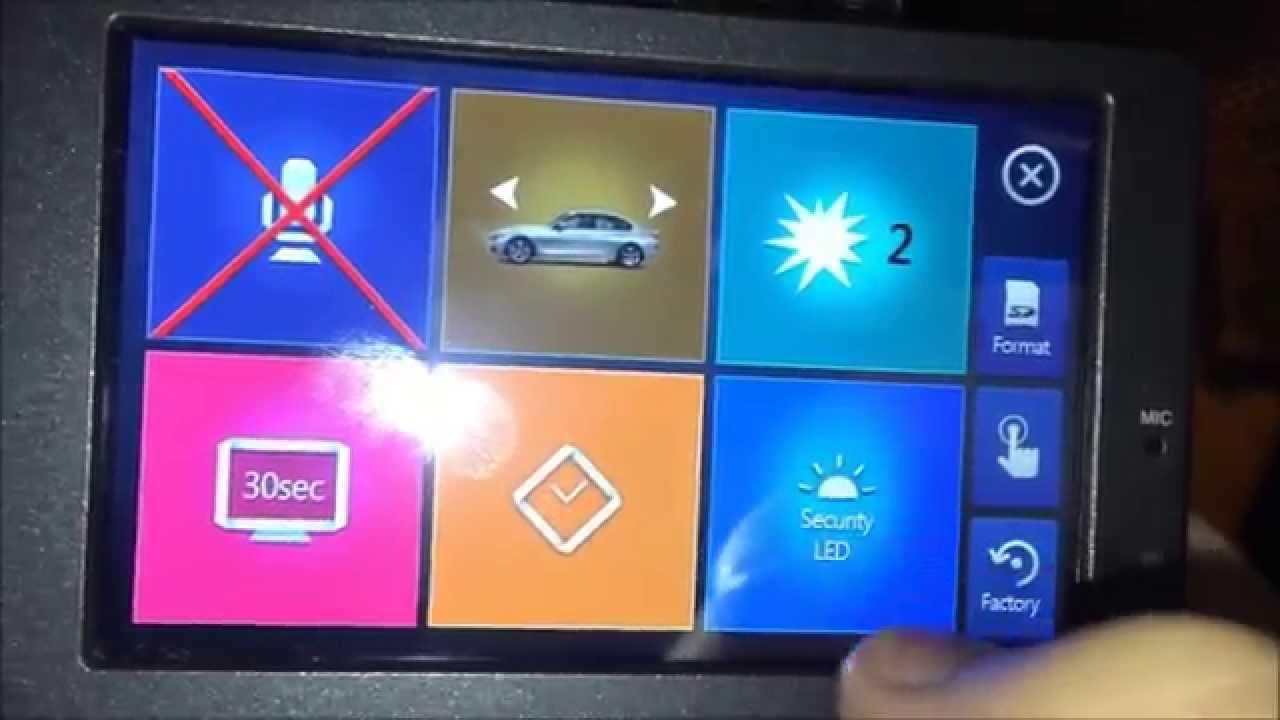 Video Obzor Menyu Bmw Advanced Car Eye 66212359954 Youtube