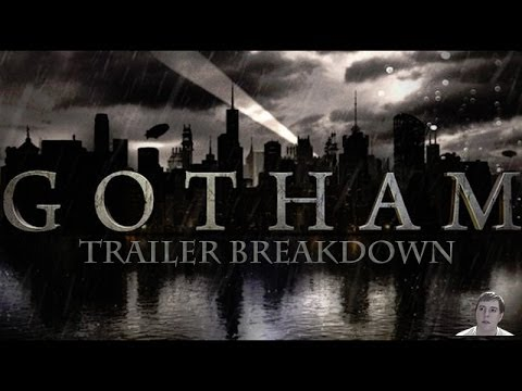 Gotham TV Series - First Official Extended Trailer - Video Breakdown