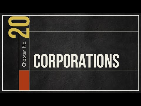 Business Law - Corporations Overview