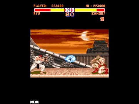 Street Fighter II (mobile phone) playthrough