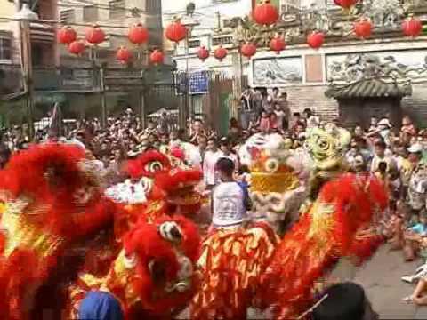 Clip music lion dance Hao Dung Duong ( Hào Dũng Đư...