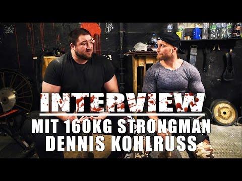 """""""NUR KRAFTTRAINING OHNE CHALLENGE GENÜGT MIR NICHT"""" - Interview mit 165kg Strongman DENNIS KOHLRUSS"""