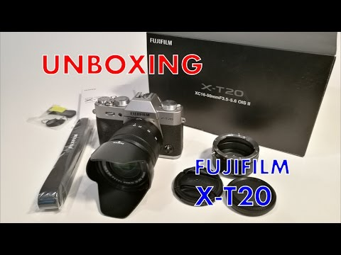 Unboxing FUJIFILM X T20