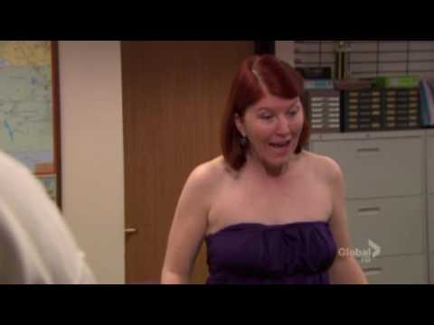 The Office: Casual Friday - Merediths Exposes herself to the office