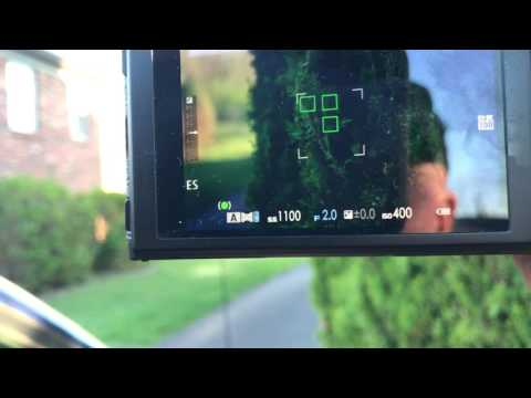 X-T20 Zone tracking & Cont. AF. Fastest near-far acquisition example