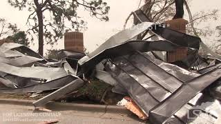 10-10-18 Tyndall AFB, FL - Devistating catastrophic damage due to Hurricane Michael.mp4