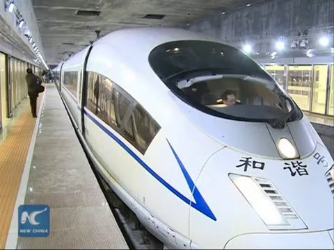 Asia's largest underground railway station opens in S China