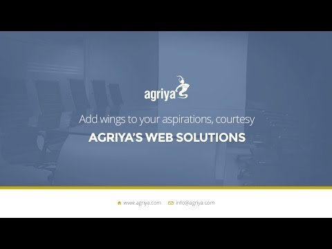 Get a Complete Insight of Agriya's Web Development Service and Solutions - YouTube