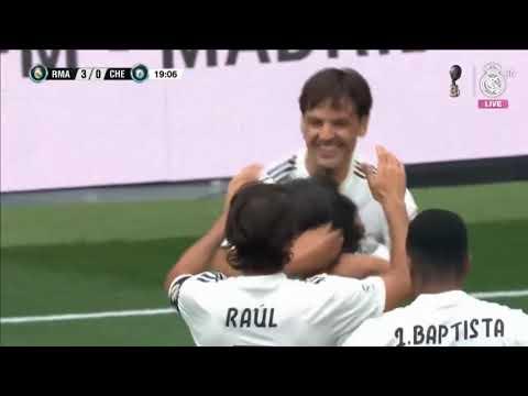 Легенды Реала 5:4 Легенды Челси | Товарищеские матчи 2019 | Football24.ru
