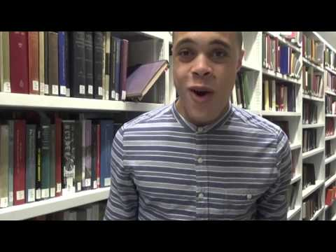 Video diary – Bertram gets used to university style working