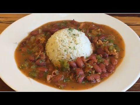 Delicious  How To make Red Beans and Rice