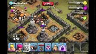[Level 27. Obsidianturm] - Clash of Clans Einzelspieler
