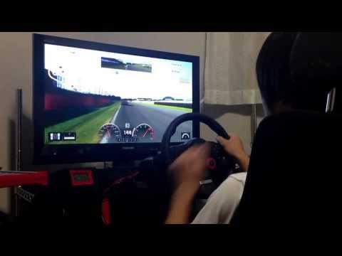 ドライビングフォース筑波タイムアタック53秒924ノーマル車