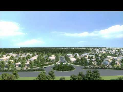 Stockland's Brightwater Estate, Sunshine Coast, fly through video, Morcraft Homes new display home