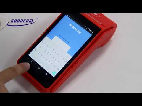 Android Pos With QR/barcode Scanner, Nfc/rfid/smart/magnetic Card Reader