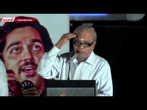 K. Balachander Final Day Speech  Amazing Talk about Kamal Haasan & Rajinikanth  Must Watch