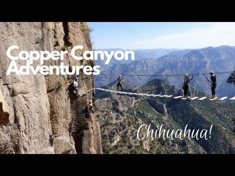 A Rush of Fun in the Copper Canyon Adventure Park - Chihuahua