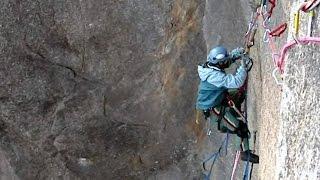 Via Franco-Brasileira, escalada na Pedra do Sino