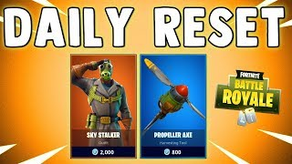NEW SKY STALKER SKIN - Fortnite Daily Reset & NEW Items in Item Shop