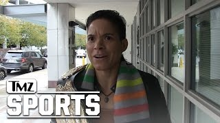 Amanda Nunes: 'Ronda Rousey Blocked Me On Instagram!' | TMZ Sports