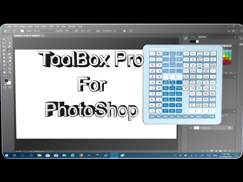 Photoshop Tutorial How to Use a Larger Toolbox from External Tool