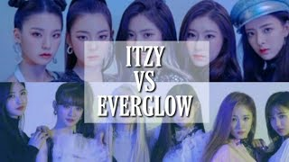 ITZY VS EVERGLOW (Song, Vocal, Dance, Rap, Visual and More)