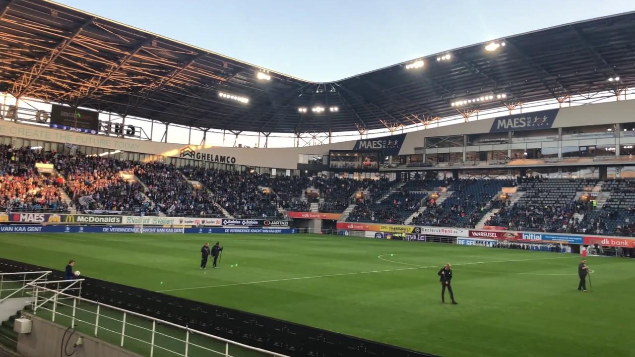 KAA Gent v Charleroi formazion...