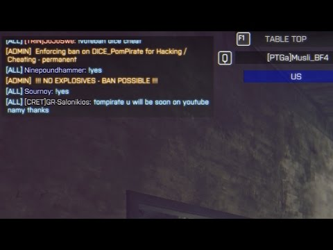 BF4 Hacker Caught in Spectator and admin ban him on realtime