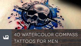 Video 40 Watercolor Compass Tattoos For Men download MP3, 3GP, MP4, WEBM, AVI, FLV Agustus 2018
