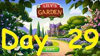 Lily's Garden Day 29 Complete Walkthrough