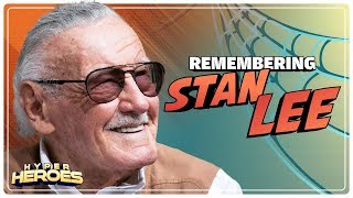 Remembering Stan Lee: The Godfather of Marvel Comics - Hyper Heroes
