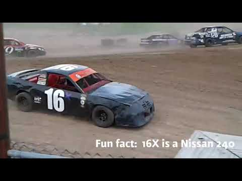 Genesee Speedway mini stock feature 10-13-18