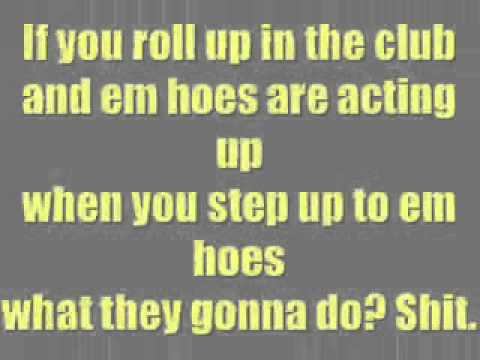 Lil Jon What You Gonna Do Lyrics (DIRTY)