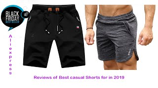 Review of best Men's Casual Shorts 2019