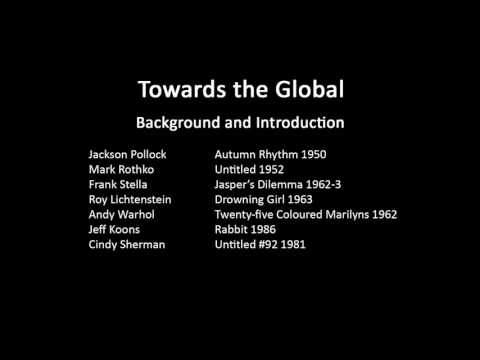 A history of modern art in 73 lectures: lecture 51 (course background and introduction)