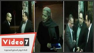 القرموطي والقصاص ومنى مينا يشاركون بعزاء والدة محمد علي خير