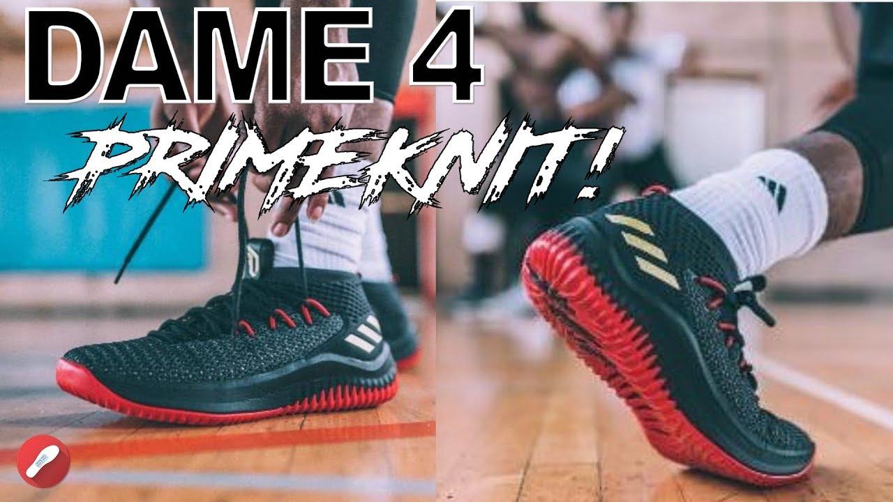 1d572f211a8789 Adidas Dame 4 PRIMEKNIT!! - YouTube