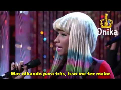 Nicki Minaj - Right Thru Me (LIVE) [Legendado/PT/BR]