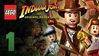 Zagrajmy w LEGO Indiana Jones: The Original Adventures odc.1 Zaginiona Świątynia
