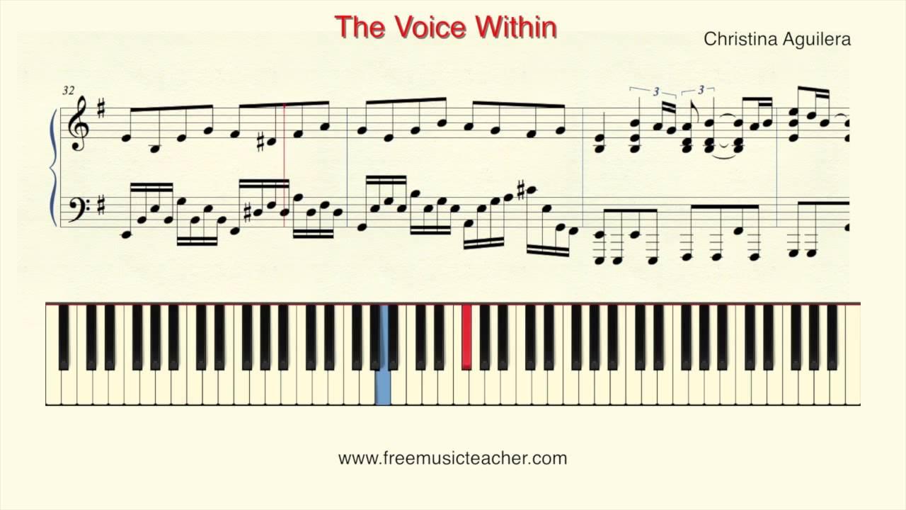 How To Play Piano: Christina Aguilera