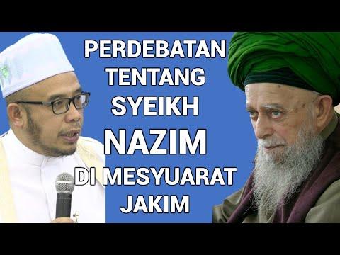 DR MAZA - Perdebatan Tentang Syeikh Nazim Di Mesyuarat Jakim