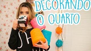 Decore o seu quarto | Faça você mesma- DIY com pisca pisca thumbnail