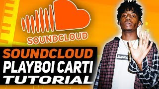 How to make a Playboi Carti SOUNDCLOUD type beat | pierre bourne tutorial in FL STUDIO