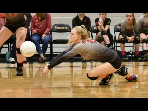 Cameron Taylor #5 Class of 2017 Libero DS Volleyball Recruiting