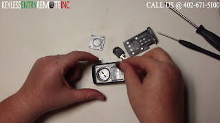How To Replace Toyota Prius Key Fob Battery 2004 2005 2006 2007 2008 2009