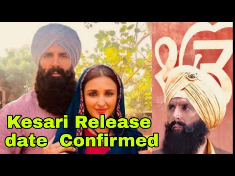 Akshay Kumar And Parineeti First Look Out From Kesari Movie, Release Date Confirmed