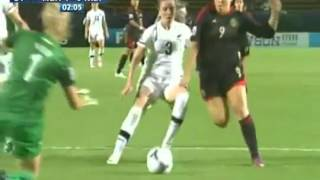 Tri Femenil México vs Nueva Zelanda 4-0 - Mundial Femenil sub 20 2012
