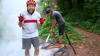 NOOB Mountain Bikers Be Like...